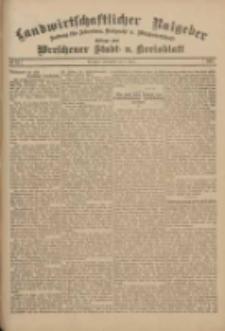 Landwirtschaftlicher Ratgeber: Zeitung für Ackerbau, Viehzucht u. Milchwirtschaft: Beilage zum Wreschener Stadt- u. Kreisblatt 1911.04.08 Nr15