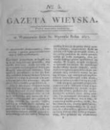 Gazeta wieyska czyli wiadomości gospodarczo-rolnicze. 1817.01.31 Nr5