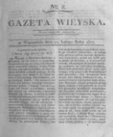 Gazeta wieyska czyli wiadomości gospodarczo-rolnicze. 1817.02.21 Nr8