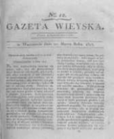 Gazeta wieyska czyli wiadomości gospodarczo-rolnicze. 1817.03.21 Nr12