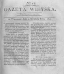 Gazeta wieyska czyli wiadomości gospodarczo-rolnicze. 1817.04.04 Nr14