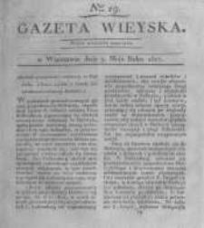 Gazeta wieyska czyli wiadomości gospodarczo-rolnicze. 1817.05.09 Nr19