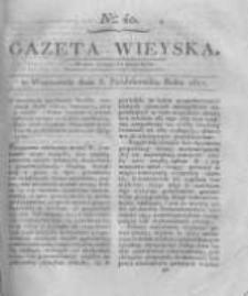 Gazeta wieyska czyli wiadomości gospodarczo-rolnicze. 1817.10.03 Nr40