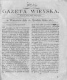 Gazeta wieyska czyli wiadomości gospodarczo-rolnicze. 1817.12.26 Nr52