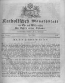 Katholisches Monatsblatt aus Ost- und Westpreussen für Leser aller Stände. 1846 April