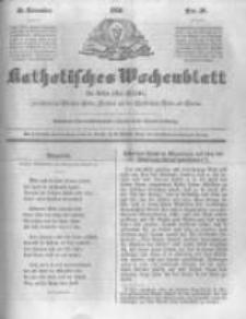 Katholisches Wochenblatt für Leser aller Stände zunächst für die Diöcesen Culm, Ermeland und das Erzbisthum Posen und Gnesen. 1850.11.30 No48