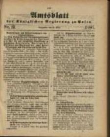 Amtsblatt der Königlichen Regierung zu Posen. 1886.03.23 Nro.12
