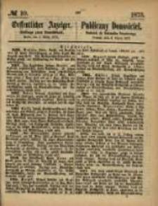Oeffentlicher Anzeiger. 1873.03.06 Nro.10
