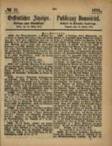 Oeffentlicher Anzeiger. 1873.03.13 Nro.11