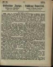 Oeffentlicher Anzeiger. 1873.03.27 Nro.13