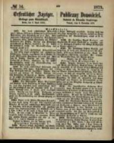 Oeffentlicher Anzeiger. 1873.04.03 Nro.14