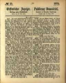 Oeffentlicher Anzeiger. 1873.05.22 Nro.21