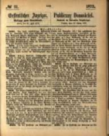 Oeffentlicher Anzeiger. 1873.07.30 Nro.31