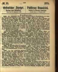 Oeffentlicher Anzeiger. 1873.09.18 Nro.38