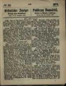 Oeffentlicher Anzeiger. 1873.12.25 Nro.52