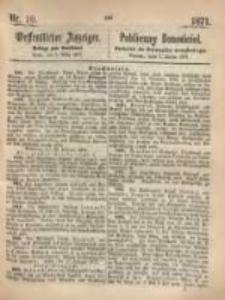 Oeffentlicher Anzeiger. 1871.03.07 Nro.10