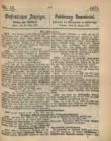 Oeffentlicher Anzeiger. 1871.03.28 Nro.13