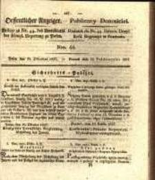 Oeffentlicher Anzeiger. 1827.10.30 Nro.44