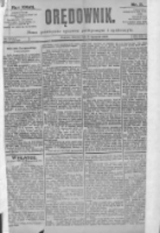 Orędownik: pismo dla spraw politycznych i spółecznych 1897.01.05 R.27 Nr3