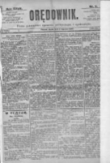 Orędownik: pismo dla spraw politycznych i spółecznych 1897.01.08 R.27 Nr5