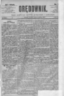 Orędownik: pismo dla spraw politycznych i spółecznych 1897.01.10 R.27 Nr7