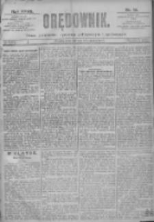 Orędownik: pismo dla spraw politycznych i spółecznych 1897.01.14 R.27 Nr10