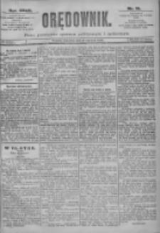 Orędownik: pismo dla spraw politycznych i spółecznych 1897.01.21 R.25 Nr16