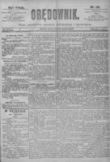 Orędownik: pismo dla spraw politycznych i spółecznych 1897.01.26 R.27 Nr20