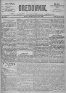 Orędownik: pismo dla spraw politycznych i spółecznych 1897.02.04 R.27 Nr27
