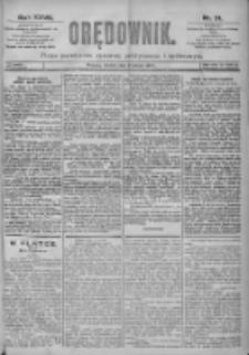 Orędownik: pismo dla spraw politycznych i spółecznych 1897.02.09 R.27 Nr31