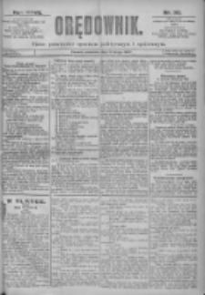 Orędownik: pismo dla spraw politycznych i spółecznych 1897.02.11 R.27 Nr33