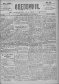 Orędownik: pismo dla spraw politycznych i spółecznych 1897.02.14 R.27 Nr36