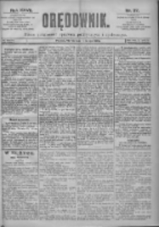 Orędownik: pismo dla spraw politycznych i spółecznych 1897.02.16 R.27 Nr37