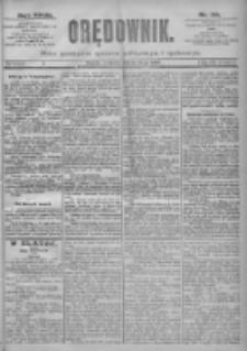 Orędownik: pismo dla spraw politycznych i spółecznych 1897.02.18 R.27 Nr39