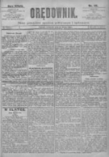 Orędownik: pismo dla spraw politycznych i spółecznych 1897.02.25 R.27 Nr45