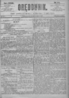 Orędownik: pismo dla spraw politycznych i spółecznych 1897.03.11 R.27 Nr57