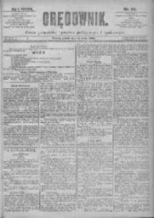 Orędownik: pismo dla spraw politycznych i spółecznych 1897.03.13 R.27 Nr59