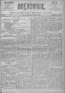 Orędownik: pismo dla spraw politycznych i spółecznych 1897.03.16 R.27 Nr61