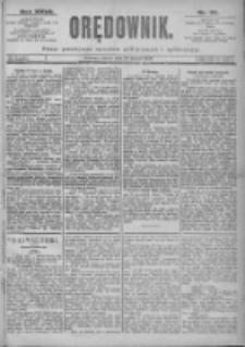 Orędownik: pismo dla spraw politycznych i spółecznych 1897.03.20 R.27 Nr65