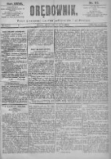 Orędownik: pismo dla spraw politycznych i spółecznych 1897.03.23 R.27 Nr67