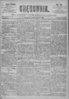Orędownik: pismo dla spraw politycznych i spółecznych 1897.03.30 R.27 Nr72