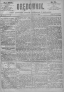 Orędownik: pismo dla spraw politycznych i spółecznych 1897.04.01 R.27 Nr74