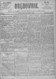 Orędownik: pismo dla spraw politycznych i spółecznych 1897.04.03 R.27 Nr76