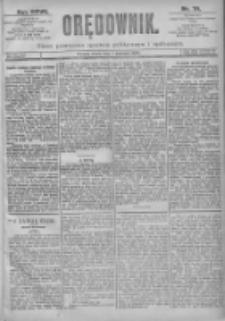 Orędownik: pismo dla spraw politycznych i spółecznych 1897.04.07 R.27 Nr79