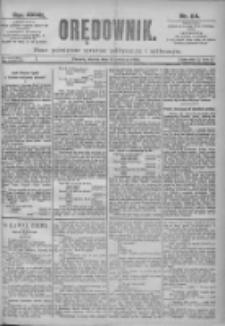 Orędownik: pismo dla spraw politycznych i spółecznych 1897.04.13 R.27 Nr84