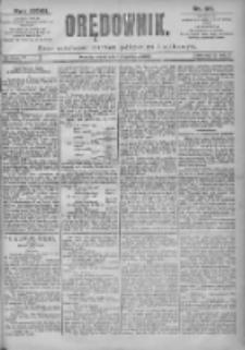 Orędownik: pismo dla spraw politycznych i spółecznych 1897.04.14 R.27 Nr85