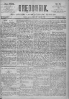Orędownik: pismo dla spraw politycznych i spółecznych 1897.04.22 R.27 Nr91