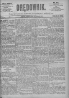Orędownik: pismo dla spraw politycznych i spółecznych 1897.04.29 R.27 Nr97
