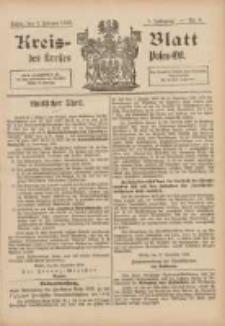 Kreis-Blatt des Kreises Posen-Ost 1895.02.09 Jg.8 Nr6