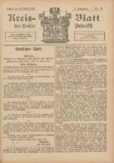 Kreis-Blatt des Kreises Posen-Ost 1895.04.20 Jg.8 Nr16